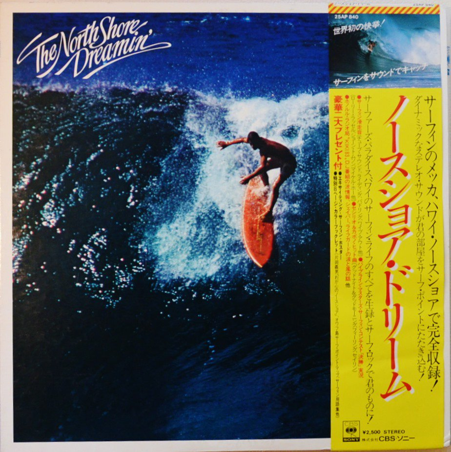 V.A. / ノースショア・ドリーム THE NORTH SHORE DREAMIN' (LP)