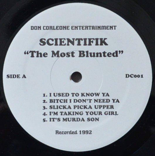 SCIENTIFIK / THE MOST BLUNTED (1LP)