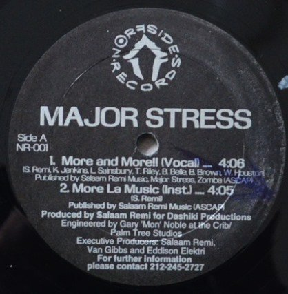 MAJOR STRESS / MORE AND MORE / A DAY IN DA STUY (12