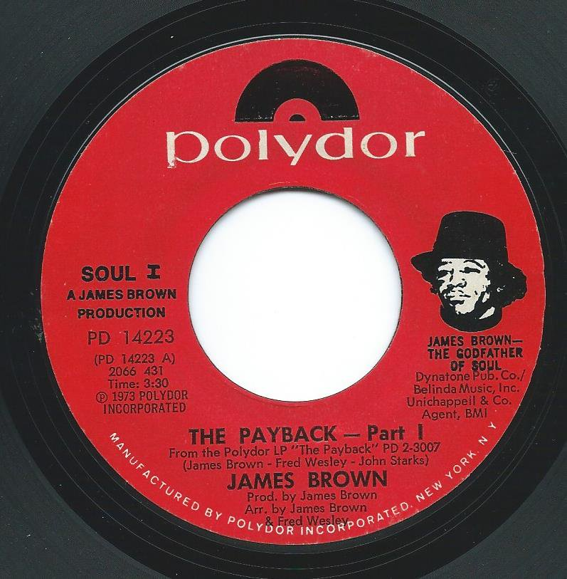 JAMES BROWN / THE PAYBACK (PART I & II) (7