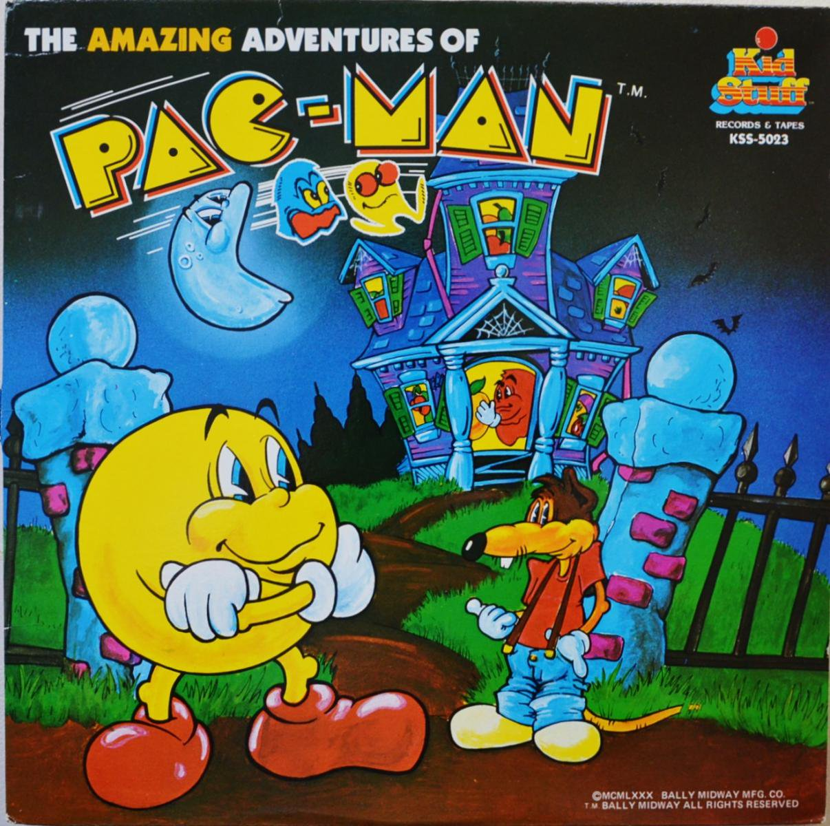 PAC-MAN / THE AMAZING ADVENTURES OF PAC-MAN (LP)