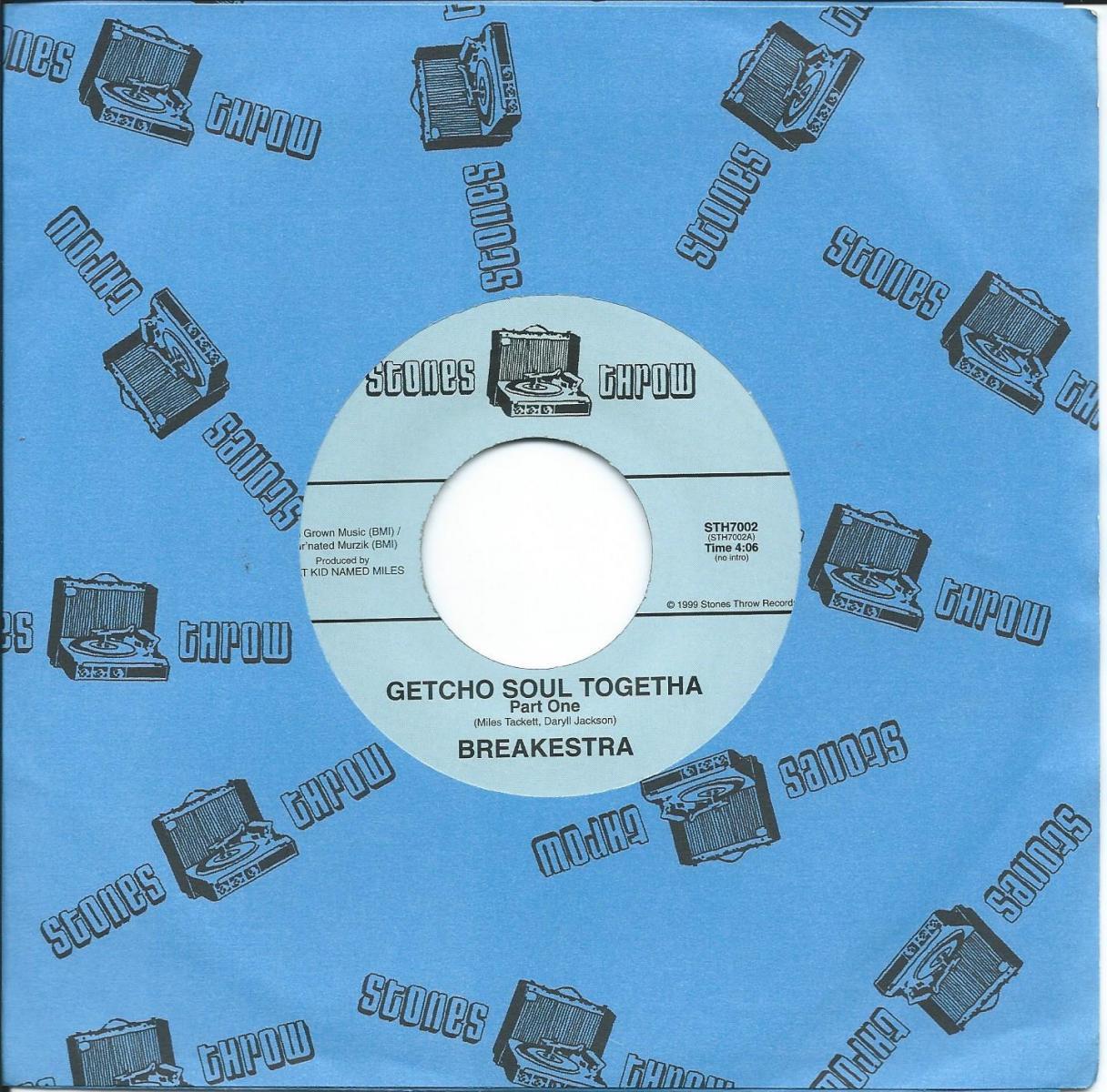 BREAKESTRA / GETCHO SOUL TOGETHA (7
