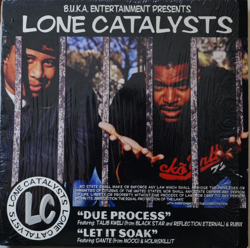 LONE CATALYSTS / DUE PROCESS / LET IT SOAK (12