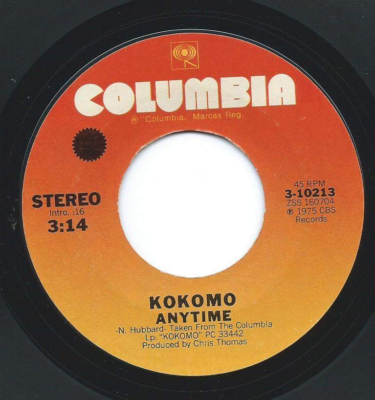 KOKOMO / ANYTIME / KITTY SITTIN' PRETTY (7