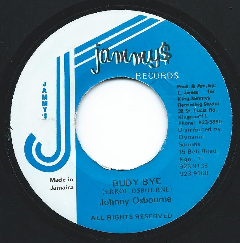 JOHNNY OSBOURNE / BUDY BYE (7