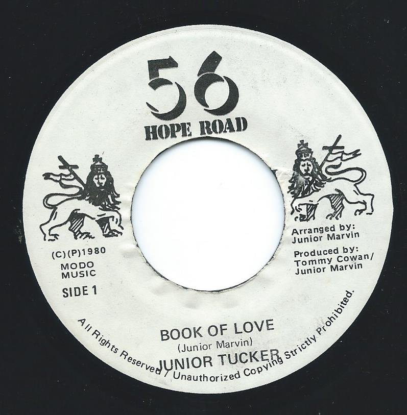 JUNIOR TUCKER / BOOK OF LOVE / MAMA ALWAYS TOLD ME VERSION (7