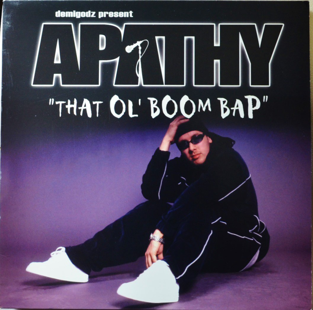 APATHY / THAT OL' BOOM BAP (PROD BY CELPH TITLED) / EARTH GIRLS ARE EASY (12