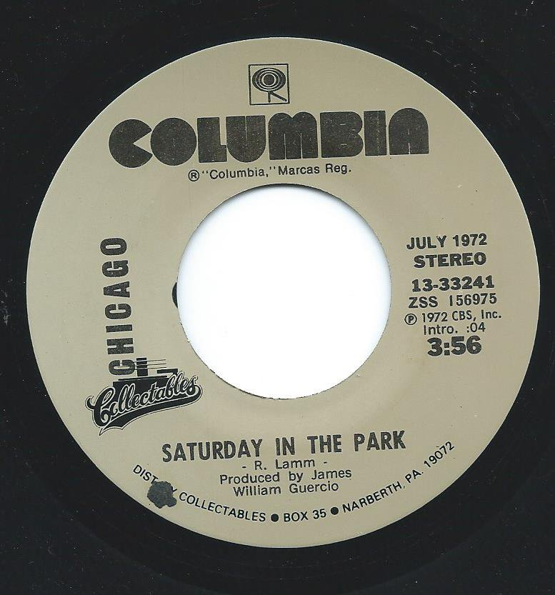 CHICAGO / SATURDAY IN THE PARK / DIALOGUE (PART 1 & 2) (7