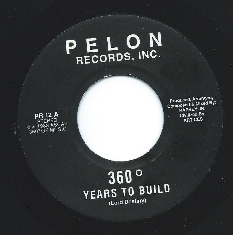360°/ YEARS TO BUILD / PELON (7