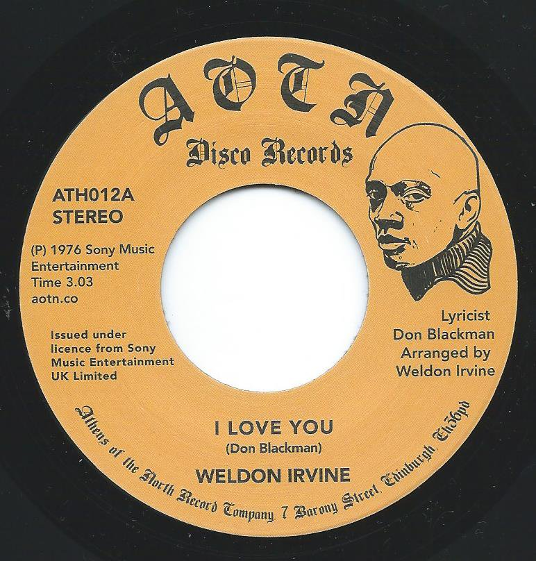 WELDON IRVINE / I LOVE YOU / WHAT'S GOING ON ? (7