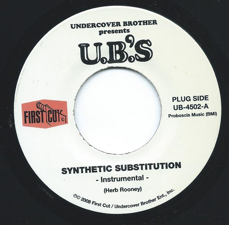 THE U.B.'S / SYNTHETIC SUBSTITUTION (7