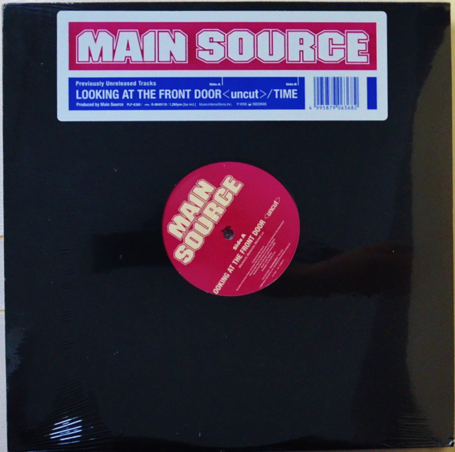 MAIN SOURCE / LOOKING AT THE FRONT DOOR (UNCUT) / TIME (12