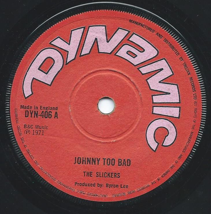 THE SLICKERS / ROLAND ALFONSO / JOHNNY TOO BAD / SAUCY HORD (7