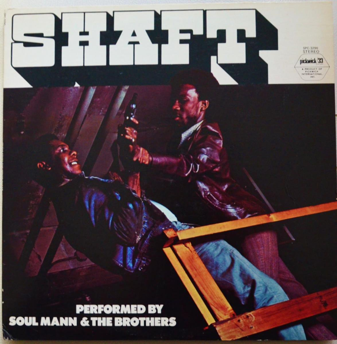 SOUL MANN & THE BROTHERS / SHAFT (LP)