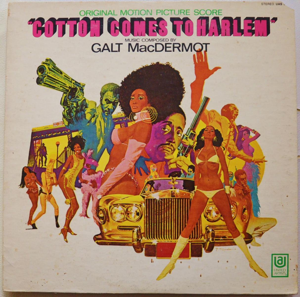 GALT MACDERMOT / COTTON COMES TO HARLEM (ORIGINAL MOTION PICTURE SCORE) (LP)