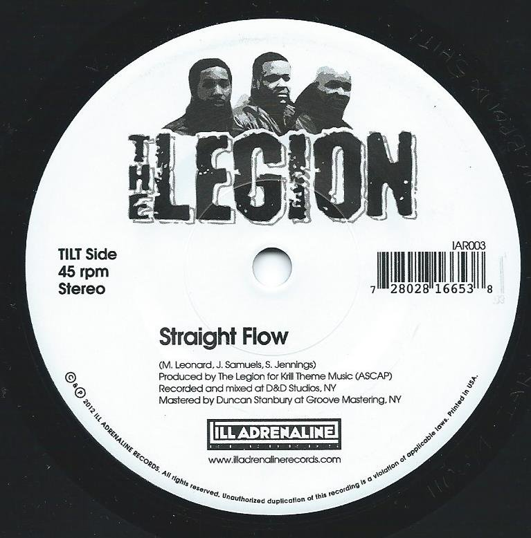 THE LEGION / STRAIGHT FLOW / AUTOMATIC SYSTEMATIC (7