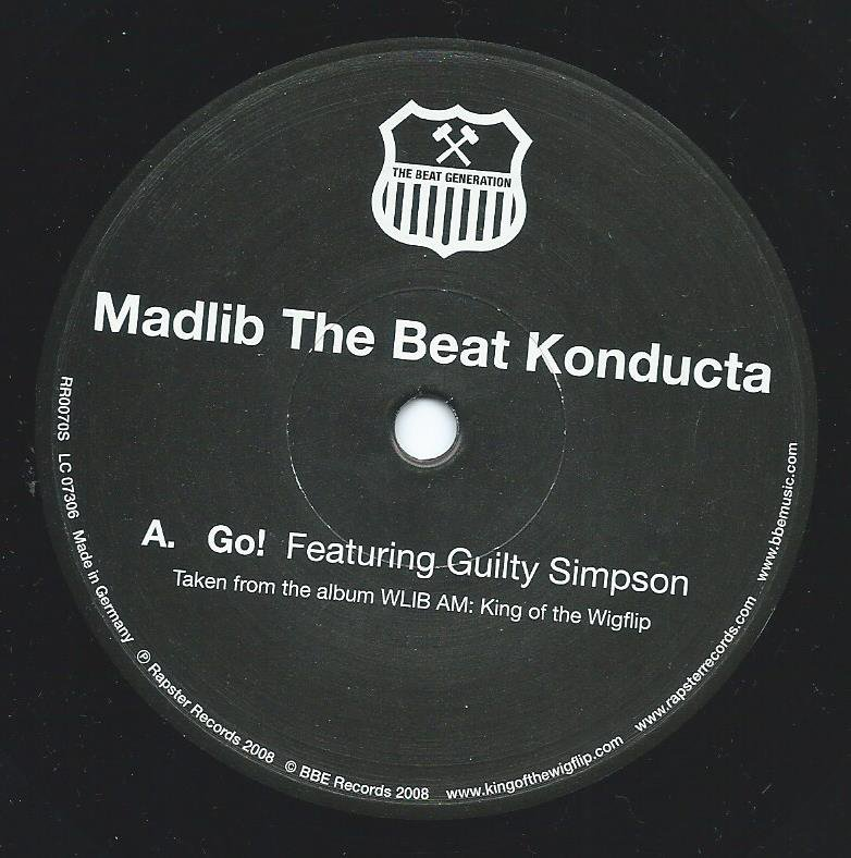 MADLIB THE BEAT KONDUCTA / GO! (FEAT.GUILTY SIMPSON) / GAMBLE ON YA BOY (FEAT.DEFARI)(7