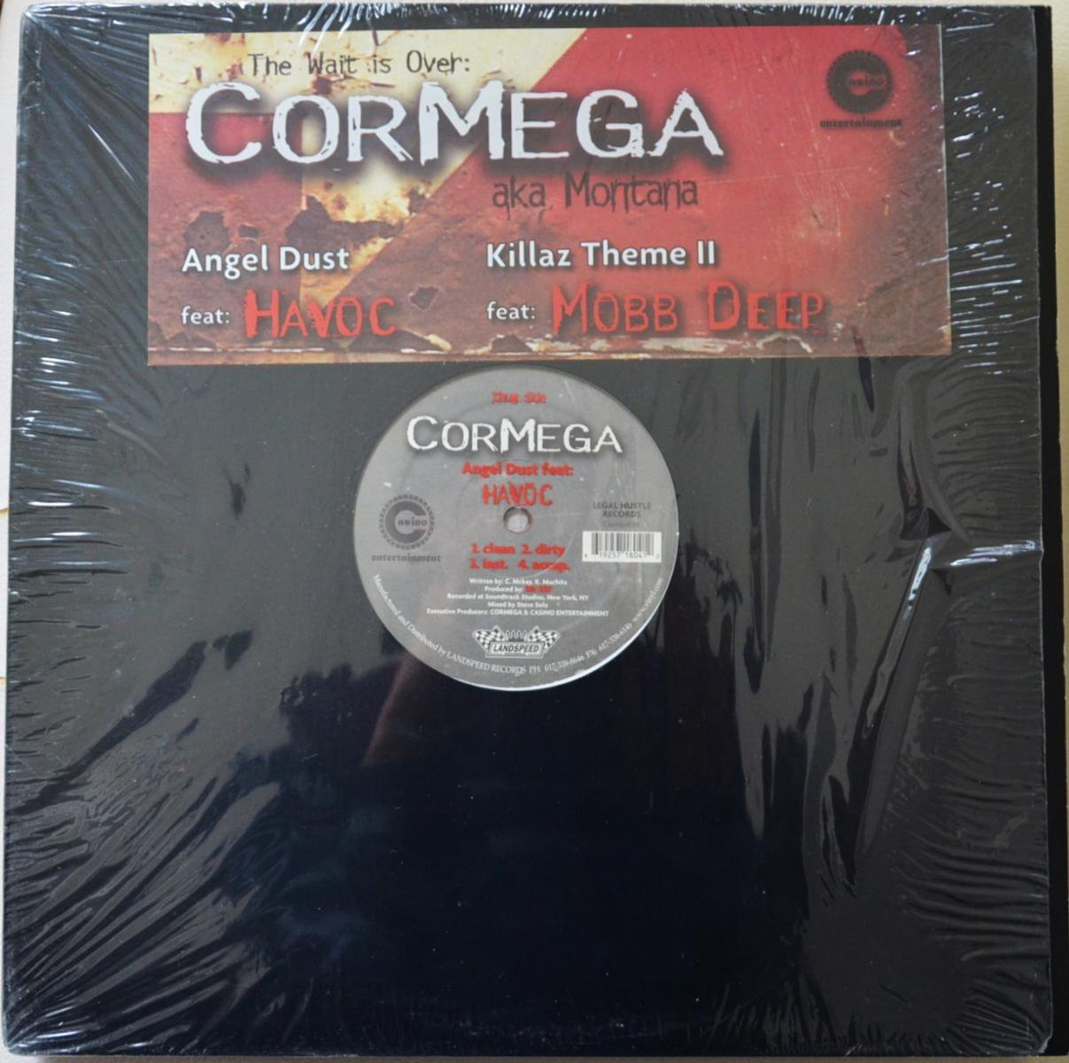 CORMEGA / ANGEL DUST (FEAT.HAVOC) / KILLAZ THEME II (FEAT.MOBB DEEP) (12