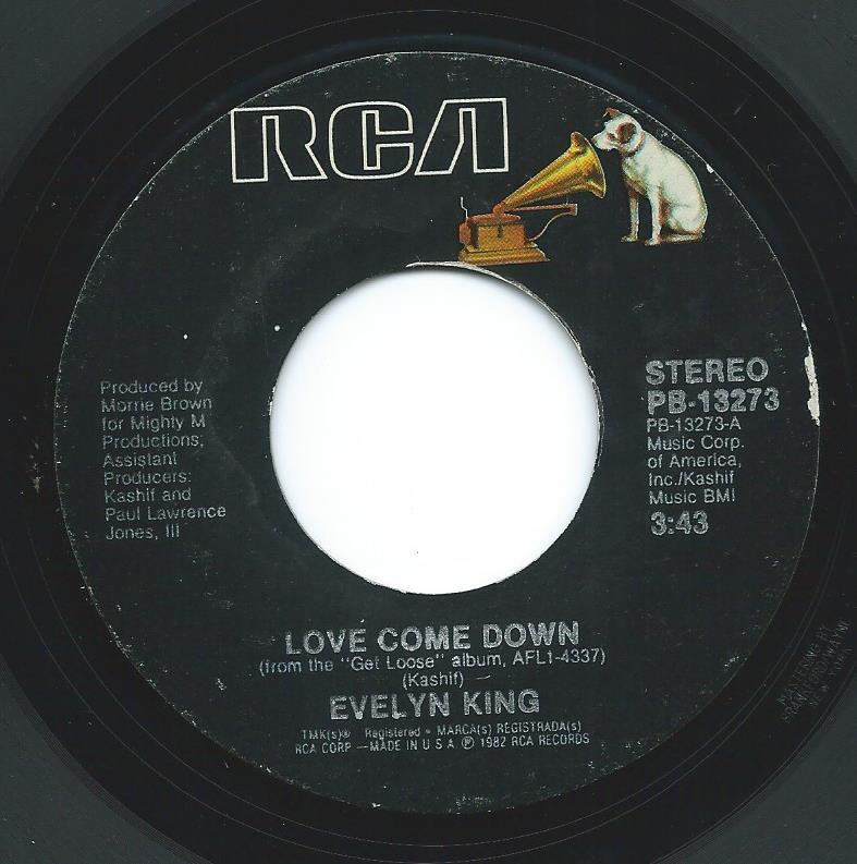 EVELYN KING / LOVE COME DOWN (7