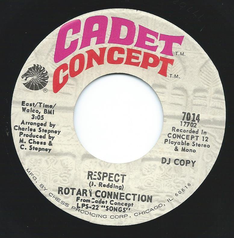 ROTARY CONNECTION / RESPECT / THE WEIGHT (7