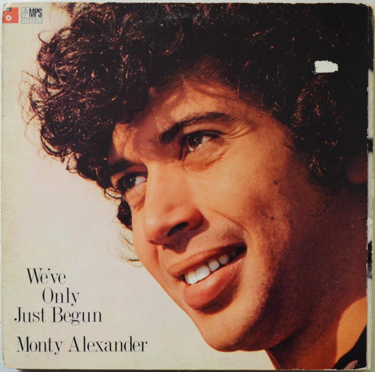 THE MONTY ALEXANDER TRIO / WE'VE ONLY JUST BEGUN (LP)