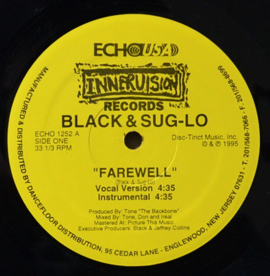 BLACK & SUG-LO / FAREWELL / SEX ON THE BEACH (12