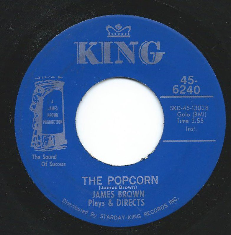 JAMES BROWN / THE POPCORN / THE CHICKEN (12