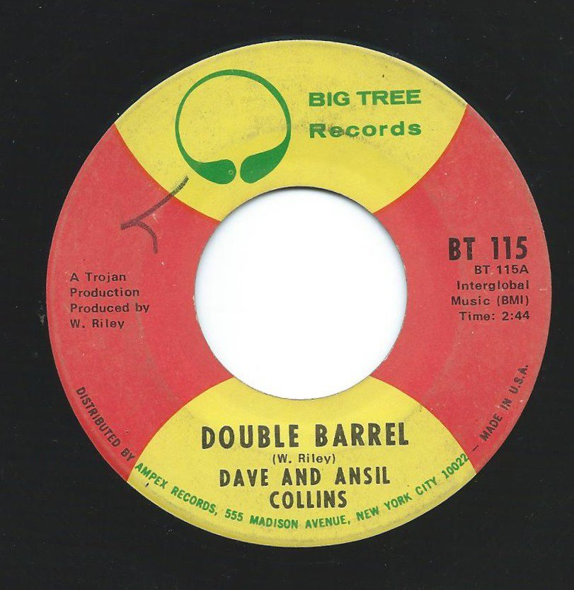 DAVE AND ANSIL COLLINS / DOUBLE BARREL (7