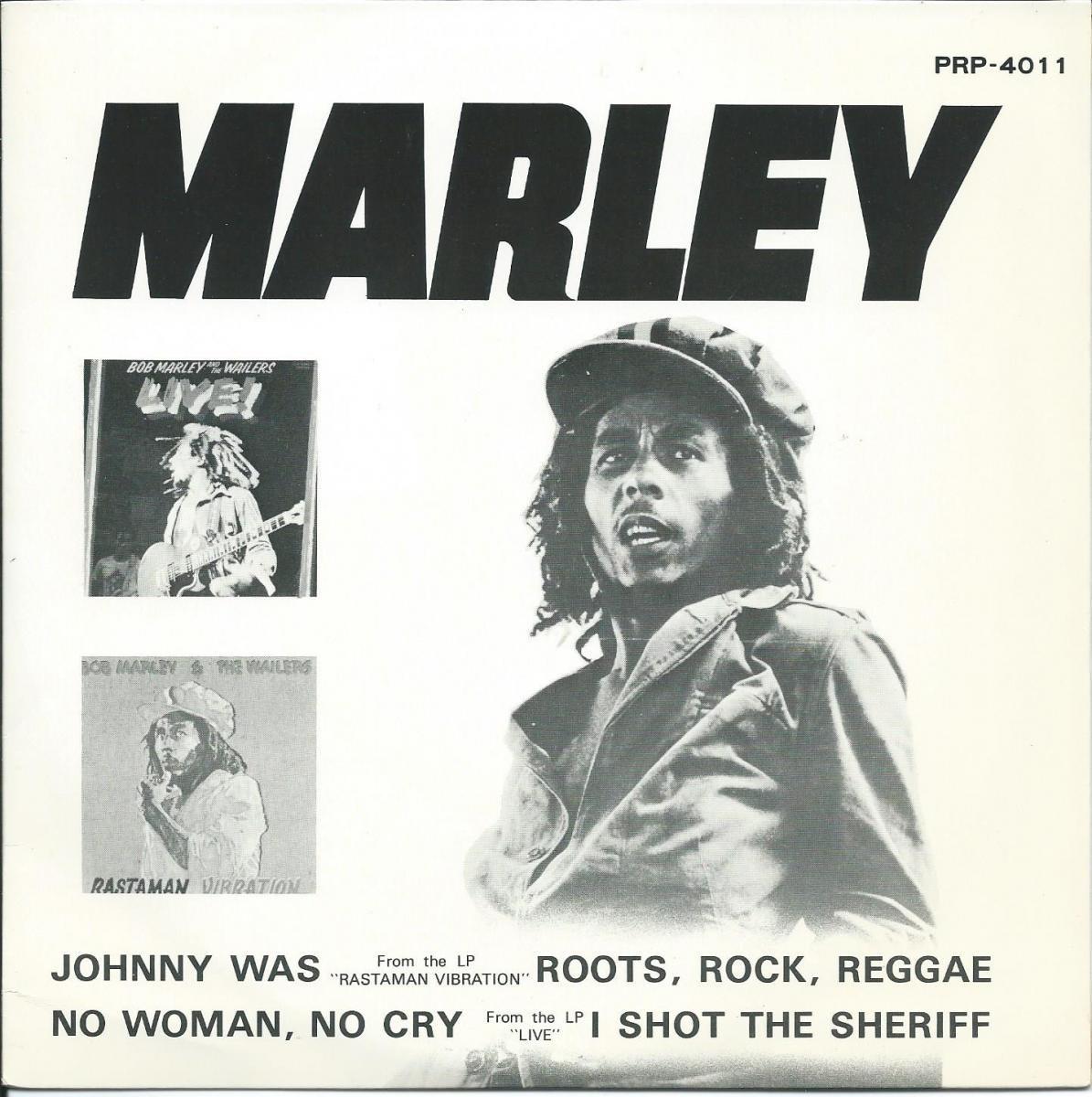 ボブ・マーリィとウェイラーズ BOB MARLEY AND WAILERS / ジョニー・ワズ JOHNNY WAS / ノー・ウーマン・ノー・クライ (7