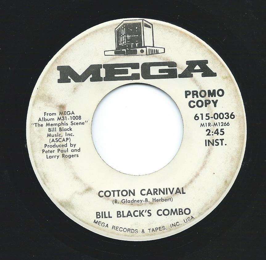 BILL BLACK'S COMBO / COTTON CARNIVAL / RINGS (7