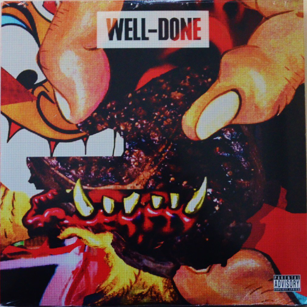 ACTION BRONSON & STATIK SELEKTAH / WELL-DONE (2LP)