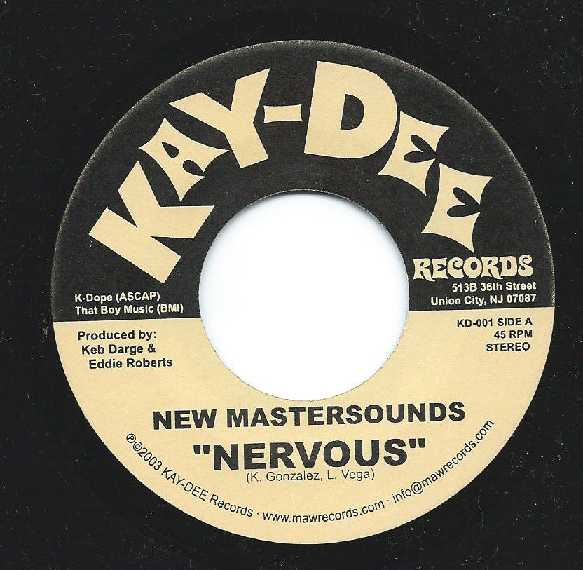 NEW MASTERSOUNDS / NERVOUS (7