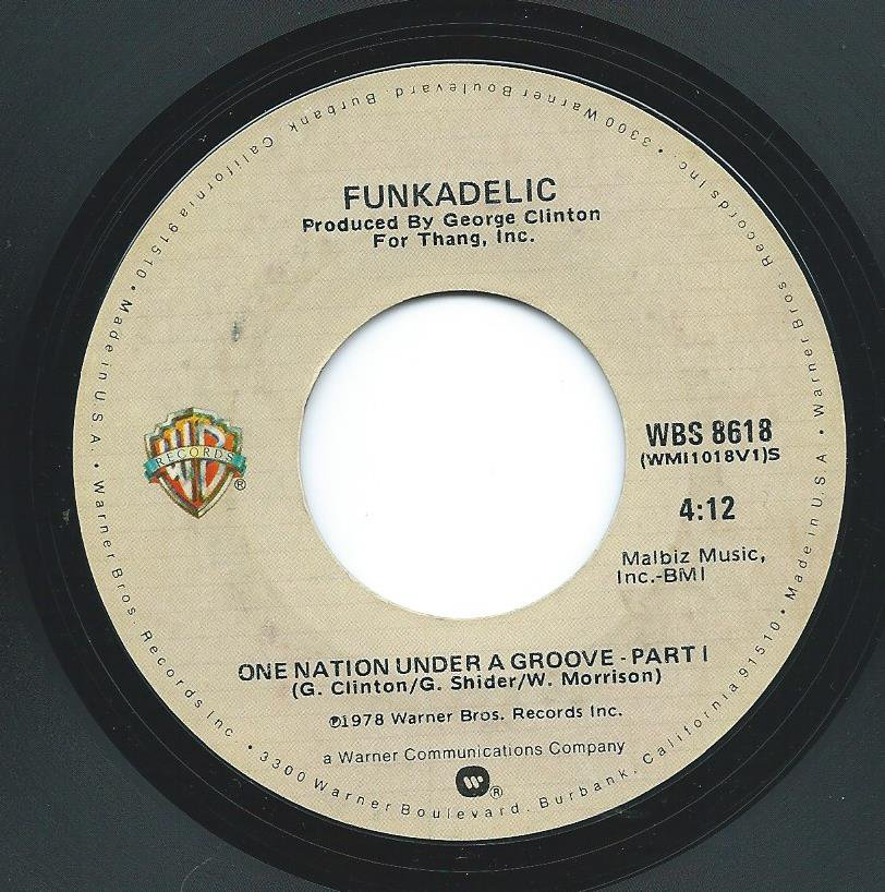 FUNKADELIC / ONE NATION UNDER A GROOVE (7