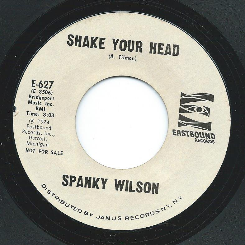 SPANKY WILSON / SHAKE YOUR HEAD / HOME (7