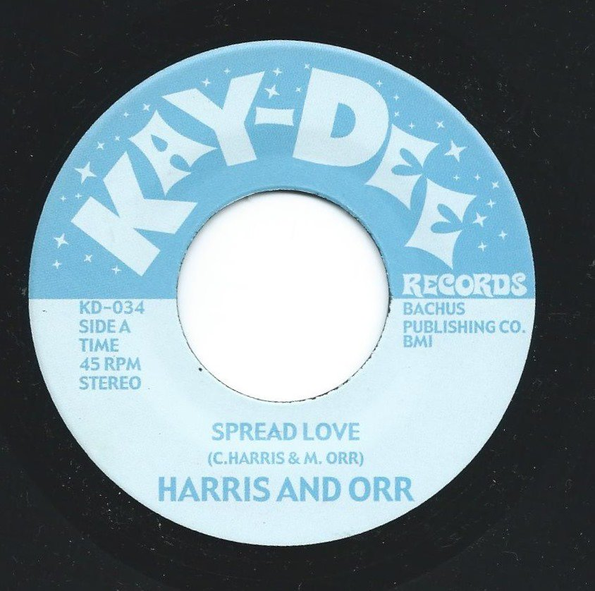 HARRIS & ORR / SPREAD LOVE / YOU OPENED MY EYES TO THE WORLD (7