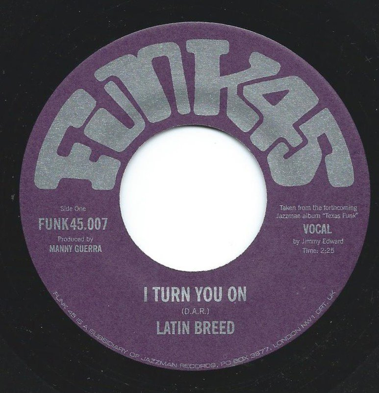 Latin Breed - I Turn You On / Hard To Handle