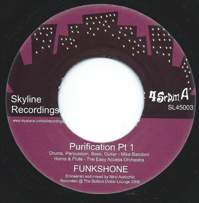 FUNK SHONE / PURIFICATION PARTS 1 & 2 (7