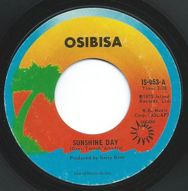 OSIBISA / SUNSHINE DAY / BUM TO BUM (7