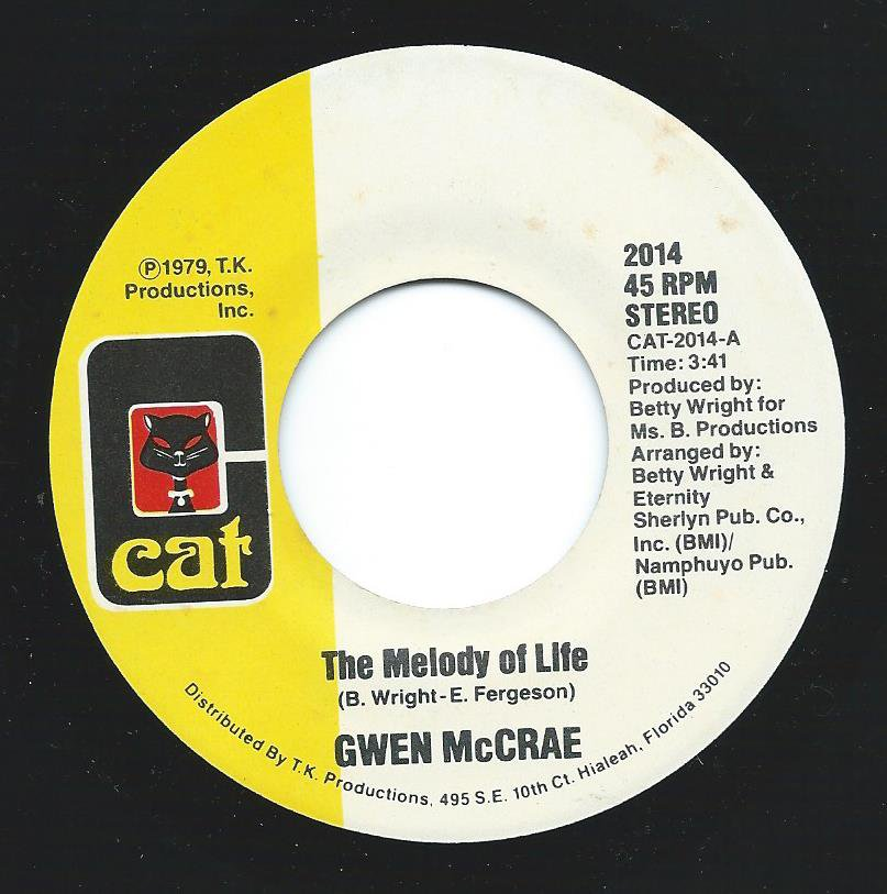 GWEN MCCRAE / THE MELODY OF LIFE / THE JOY (7