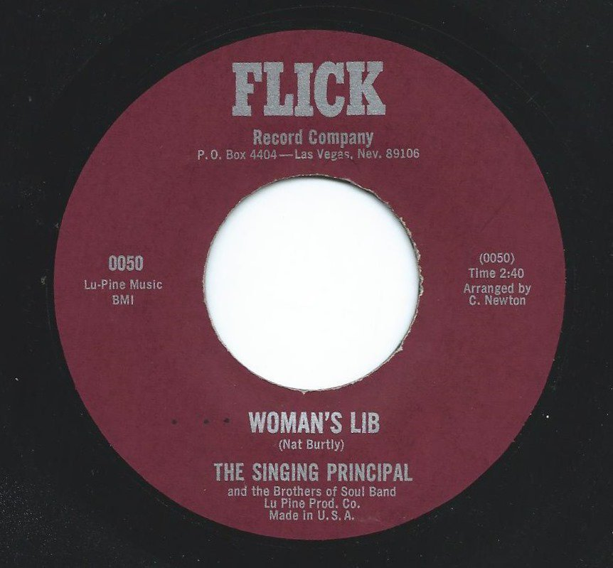 THE SINGING PRINCIPAL AND THE BROTHERS OF SOUL BAND ‎/ WOMAN'S LIB (7