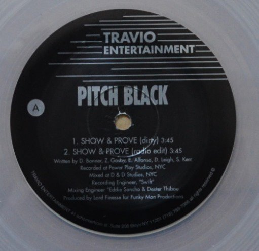 PITCH BLACK / SHOW & PROVE (PROD BY LORD FINESSE) (12