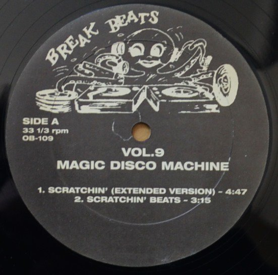 THE MAGIC DISCO MACHINE / TRIBE ‎/ SCRATCHIN' / SMOKE (12