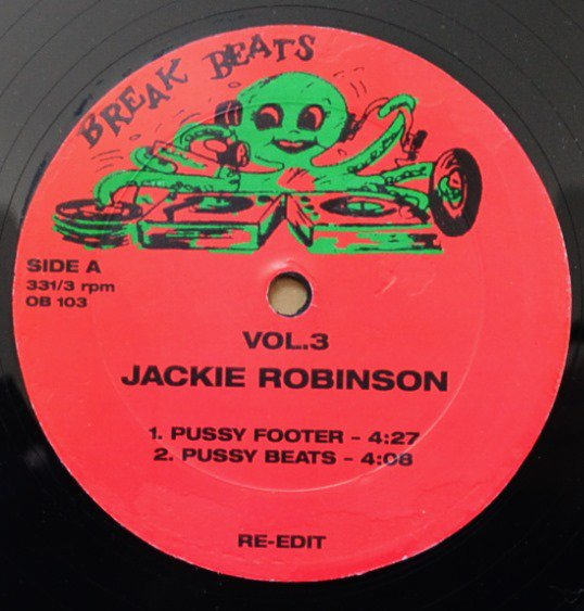 JACKIE ROBINSON / BORIS GARDINER / PUSSYFOOTER / MELTING POT (12