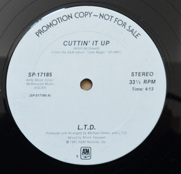 L.T.D. / CUTTIN' IT UP / APRIL LOVE (12