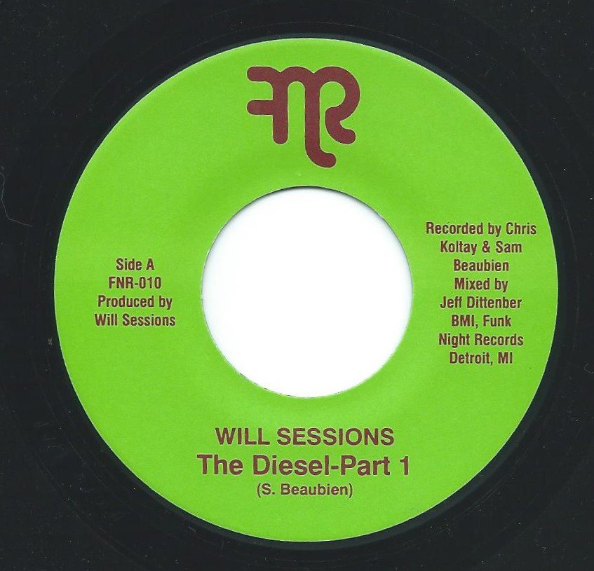WILL SESSIONS ‎/ THE DIESEL PART 1 / PART 2 (7