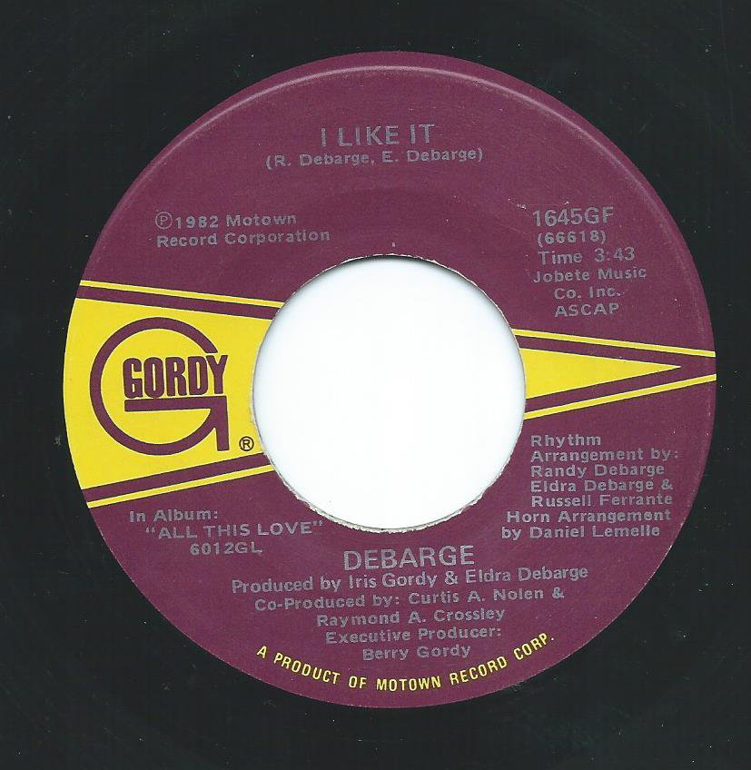 DEBARGE / I LIKE IT / HESITATED (7