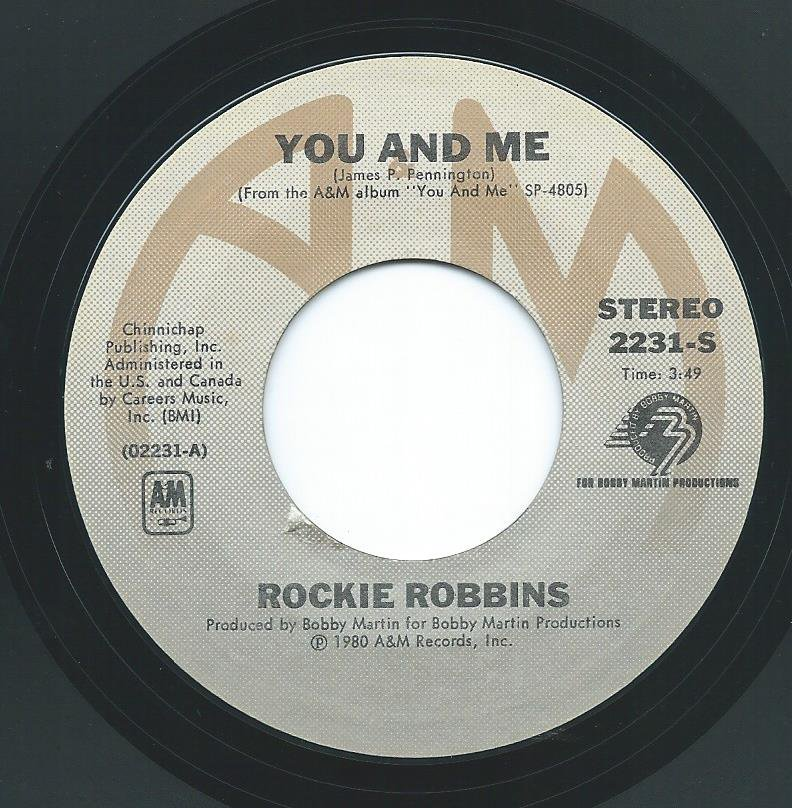 ROCKIE ROBBINS / YOU AND ME / TOGETHER (7