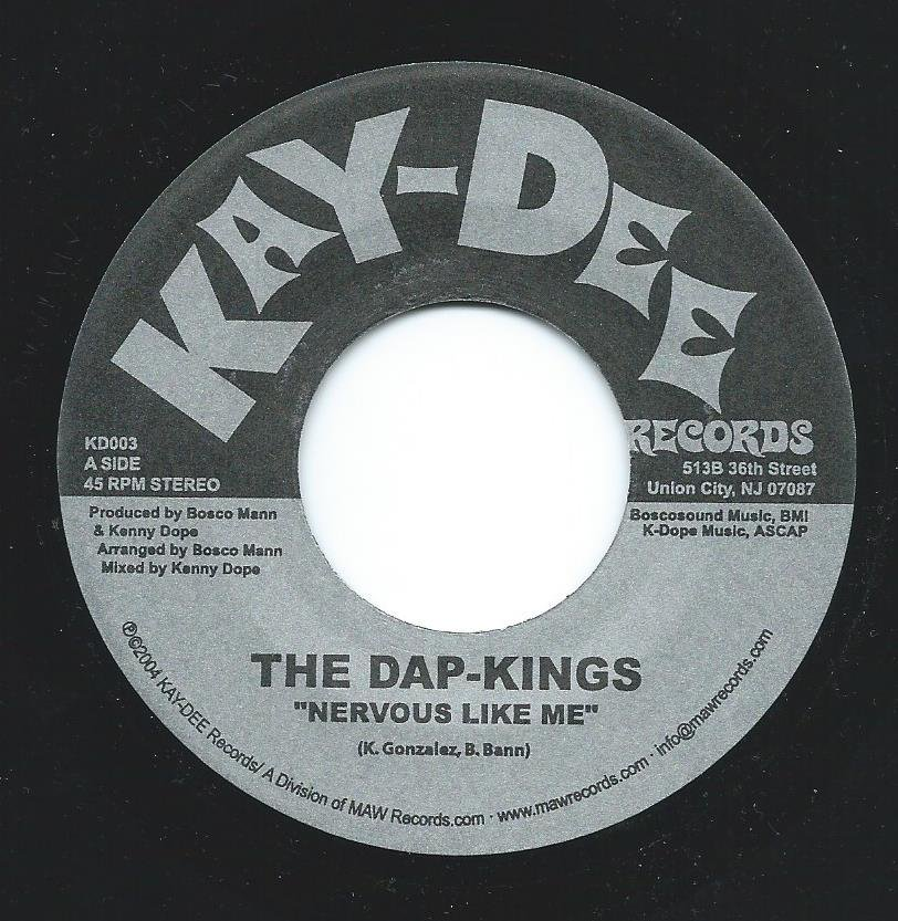 THE DAP-KINGS ‎/ NERVOUS LIKE ME (7