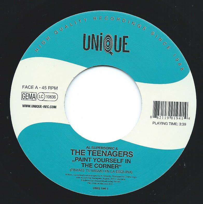 AL SUPERSONIC AND THE TEENAGERS / PAINT YOURSELF IN THE CORNER (PINTATE TU MISMO EN LA ESQUINA) (7