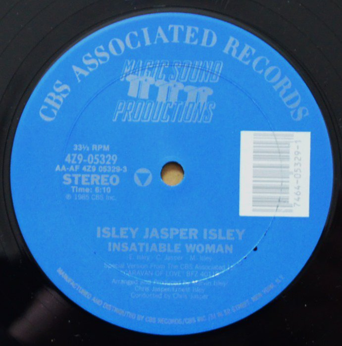 ISLEY JASPER ISLEY ‎/ INSATIABLE WOMAN / BREAK THIS CHAIN (12